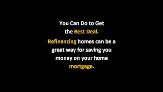 The Basic Facts Of Refinancing Home | Finding The Best Refinancing Home