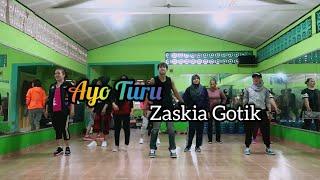 Download lagu Zaskia Gotik - Ayo Turu   DANGDUT   JOGET   ZUMBA   FITNESS   At RAD STUDIO PPU