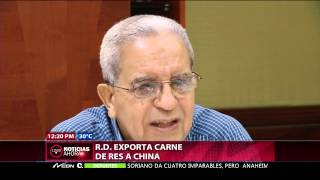 CDN 37: RD exporta carne de res a China