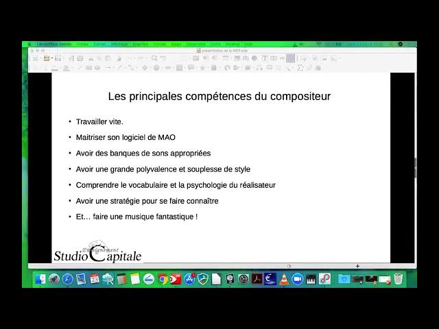 6   les principales competences du compositeur