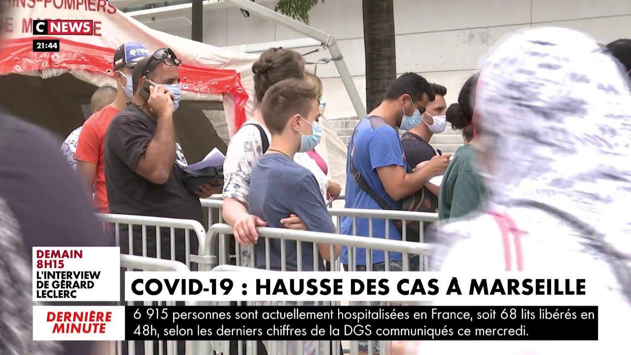 Marseille : les nouveaux cas de coronavirus repartent à la hausse