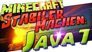 Minecraft 1.11 Stabiler Machen: Auf Java 7 Updaten ♨ Windows & Mac OS X ♨ German Deutsch