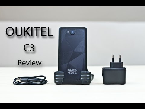 Oukitel C3 Smartphone Review! (price Update: $83)