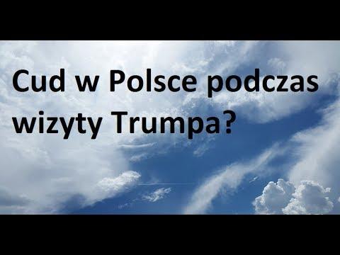 CUD podczas wizyty Trumpa w Polsce? Sami oceńcie!