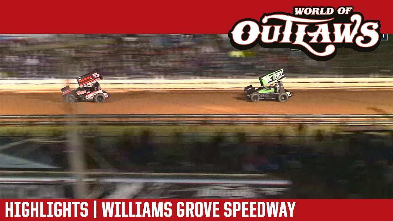 world-of-outlaws-craftsman-sprint-cars-williams-grove-speedway-september-28-2018-highlights