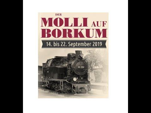 """Der """"Molli"""" Auf Borkum"""
