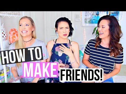 HOW TO MAKE FRIENDS! w/ MissEmilyOlson1 & BasicallyBri123 | #TeaTalk Episode 4