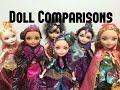 Legacy Day Cerise Hood,Madeline,Ashylnn Ella,Raven,Briar,Apple-Ever After High Doll Comparisons