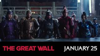 THE GREAT WALL | Official Trailer 2