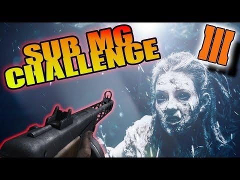 """Submarine """"Submachine Gun"""" Challenge BO3 Custom Zombies COMPLETE GAMEPLAY"""