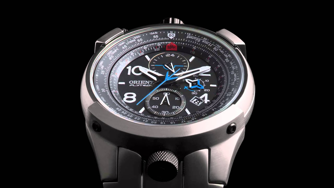 29050a578bc Flytech - Orient Relógios - YouTube