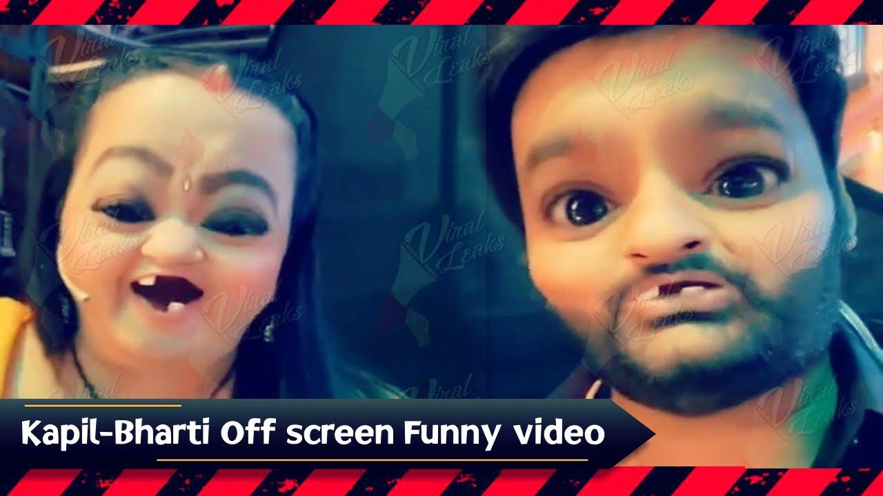 The Kapil Sharma Show की Shooting शुरू होते ही Kapil ने Bharti के साथ Set पर की मस्ती, Funny Video
