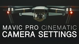 DJI Mavic Pro | Best Camera Settings | Walkthrough(Easily achieve a true film look with the ultimate camera settings for the DJI Mavic Pro (http://goo.gl/w7qquL). I will show you how to setup all important functions, ..., 2016-12-19T12:48:21.000Z)