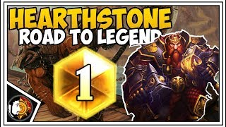 Hearthstone: 75% Winrate To Rank 5 New Season - Quest Warrior