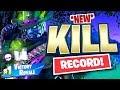 I BROKE MY SOLO KILL RECORD - FORTNITE BATTLE ROYALE
