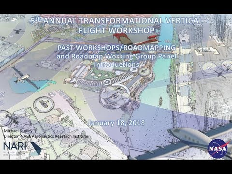 Transformative VTOL Workshop, Session 5: TVF Working Groups Roadmapping