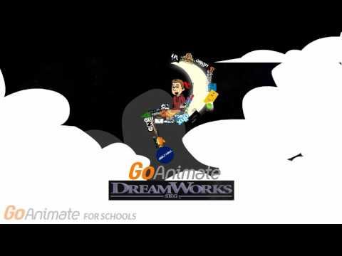 goanimate dreamworks skg logo 2017 youtube
