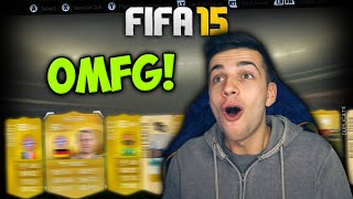 OMFG MY BEST PLAYER IN A PACK! - FIFA 15 PACK OPENING
