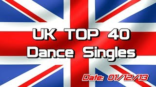 UK Top 40 - Dance Singles (01/12/2013)