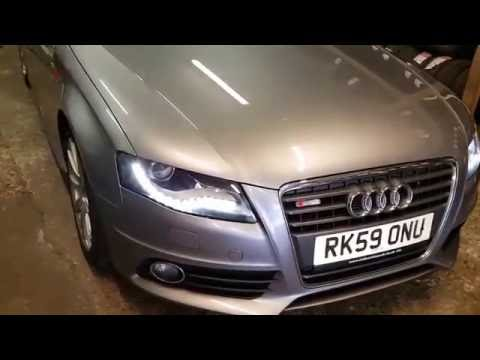 How to check tyre pressure - Audi A4