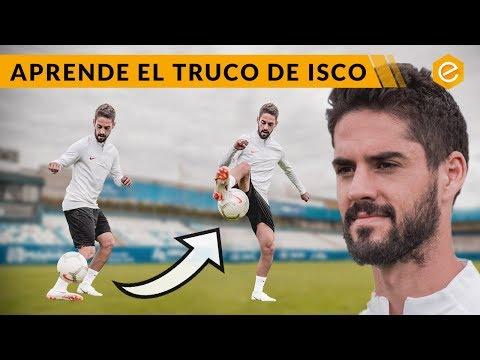 TRUCO FREESTYLE de ISCO · El TRUCO FAVORITO de ISCO