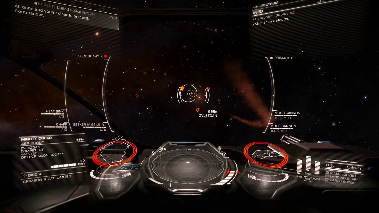 Elite: Dangerous+EDFX - From Lave to Diso