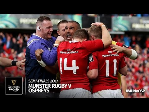 Semi-Final Highlights: Munster Rugby v Ospreys Rugby | 2016/17 season