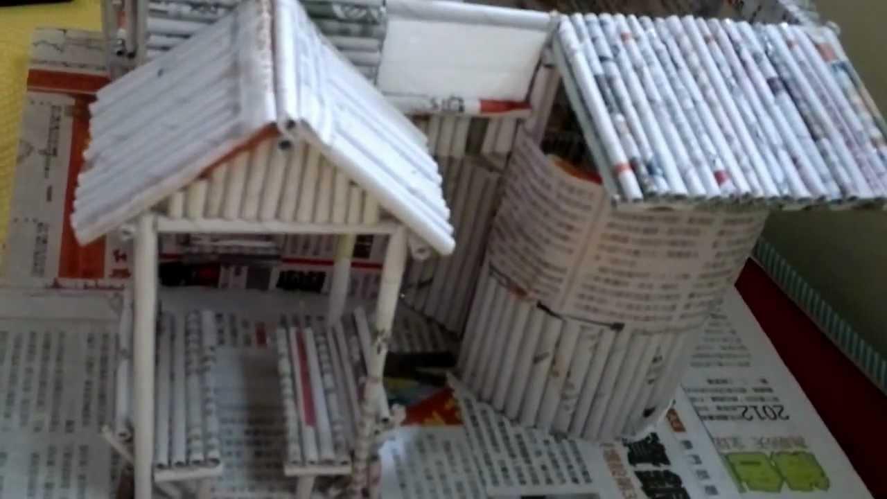Newspaper Wood Furniture
