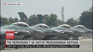 TNI Kerahkan Jet Tempur F-16 untuk Pengamanan Natuna