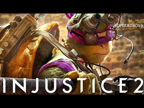 "THE MOST DISGUSTING NINJA TURTLES MATCH YOU WILL EVER SEE - Injustice 2 ""Ninja Turtles"" Gameplay"
