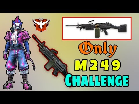 Only M249 Challenge || Ranked Match || Garena Free Fire