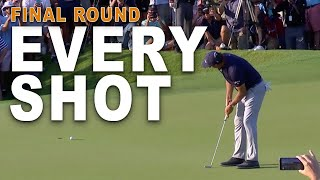 Phil Mickelson Full Final Round