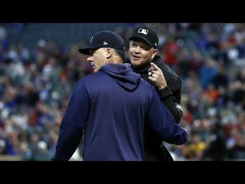 MLB Umpires starting fights for no reason compilation