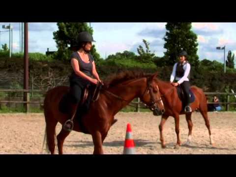 L'équitation en aveugle avec Valérie Karsenti