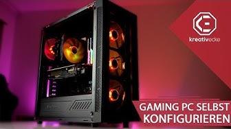 EIGENEN GAMING PC für 1000 Euro konfigurieren! SO GEHT ES! | 1000 Euro ASUS Aura Gaming PC