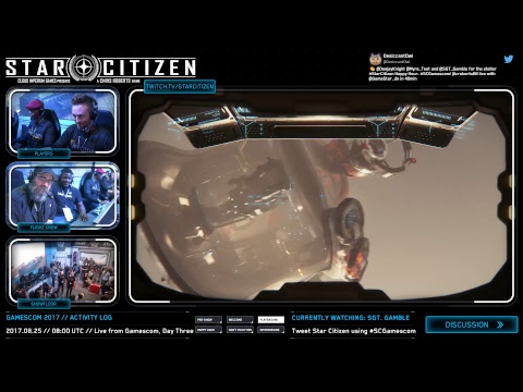 Star Citizen: Live from the Gamescom Showfloor, Day 2
