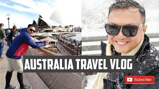 My first travel to australia