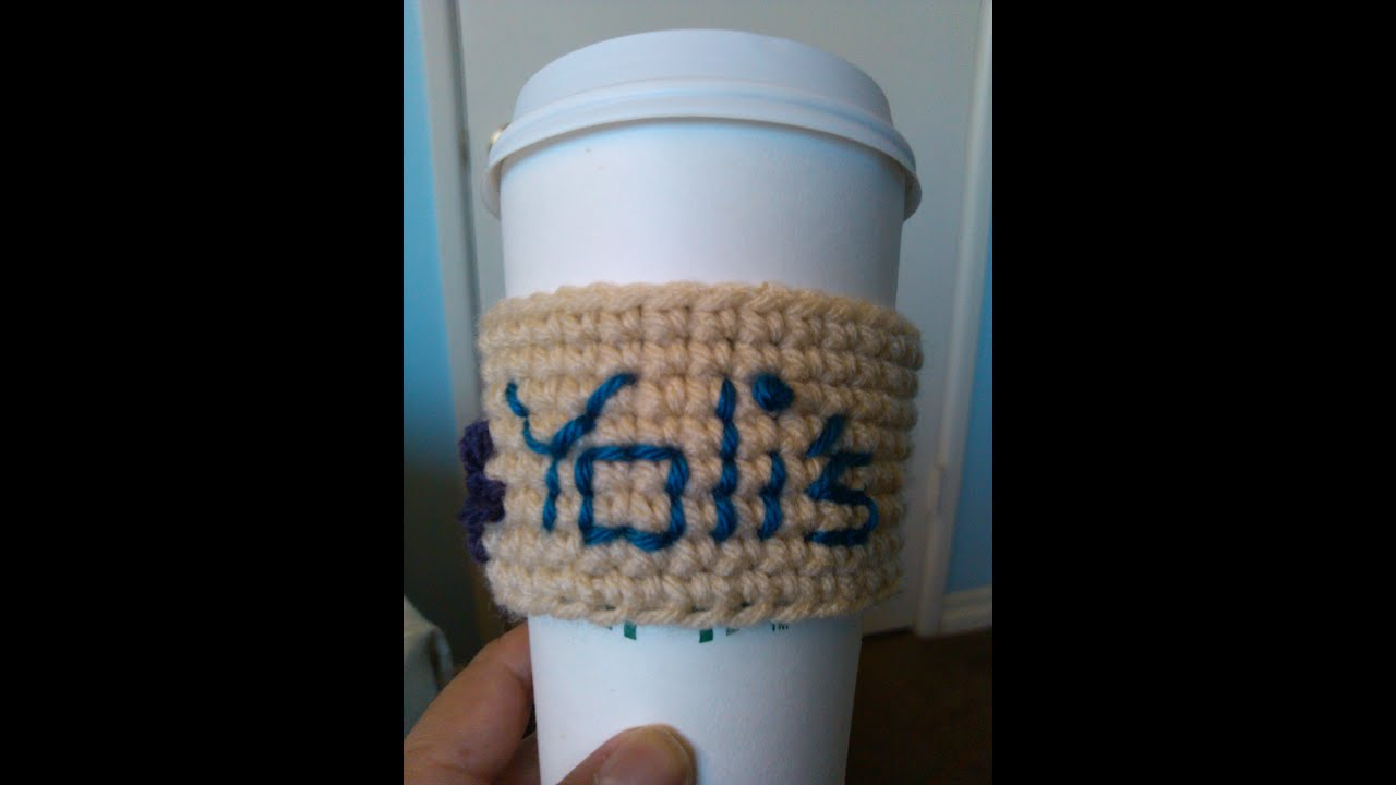 Starbucks Cup Cozy Crochet Pattern Simple Design Ideas