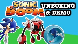 """SONIC BOOM Toy Video """"Sonic vs. Burnbot"""" Review & Demonstration by EpicToyChannel"""