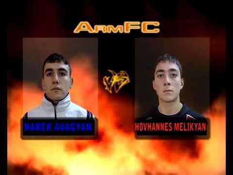 ArmFC 1.Fight 6.Narek Avagyan Vs Hovhannes Melikyan
