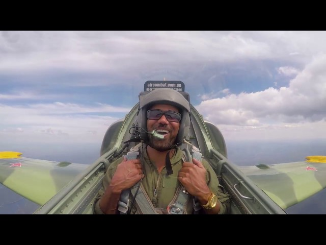 Shemar Moore Takes a Ride in a FIGHTER JET!!!