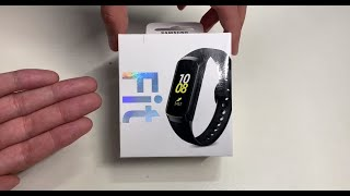 Samsung Galaxy Fit Smartwatch Unboxing