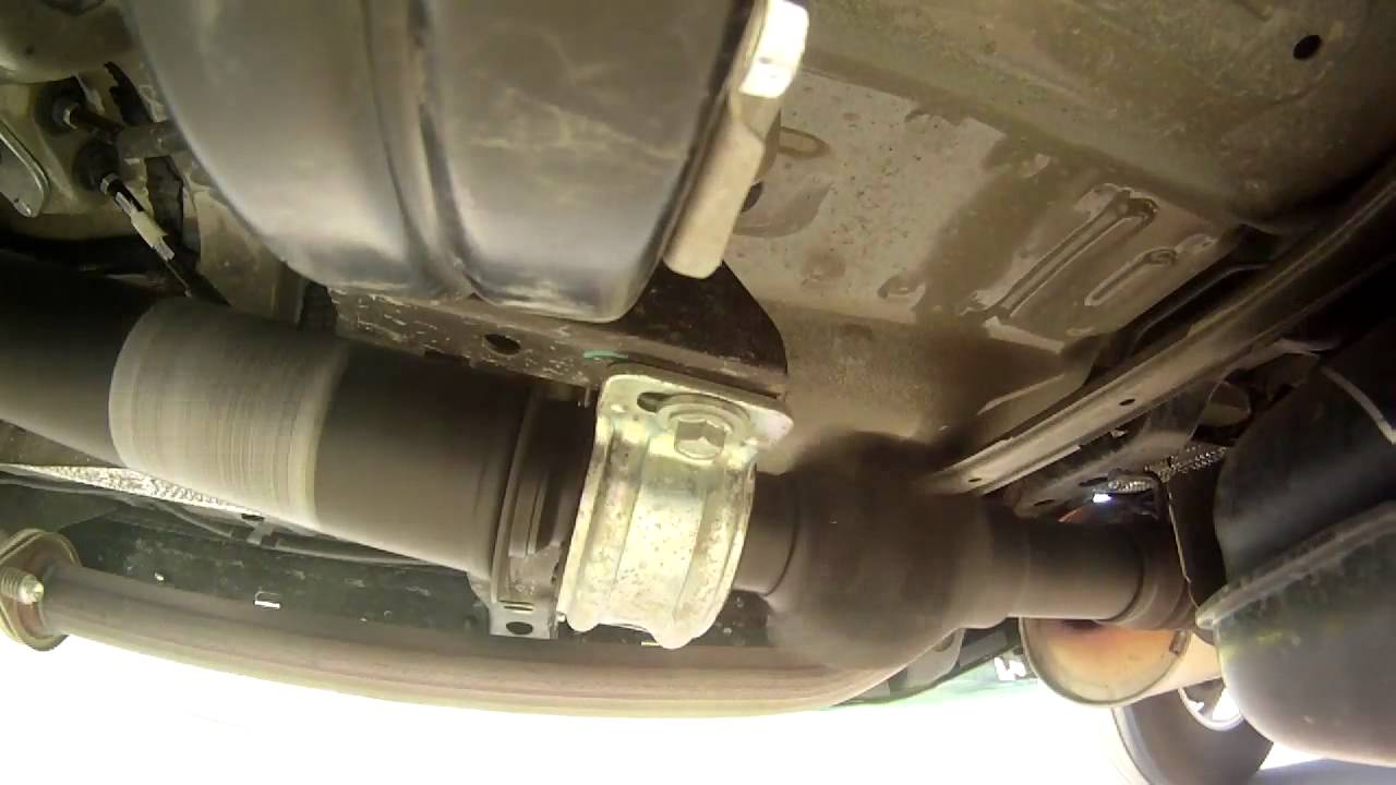2012 Toyota Tacoma Driveline Vibration 1 YouTube