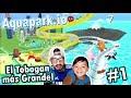 Gambar cover Tobogan Acuatico de 999,999 Metros | Aquapark.io Family Gaming | Juegos Karim Juega