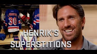 Henrik Lundqvist: Game Day Rituals and Superstitions