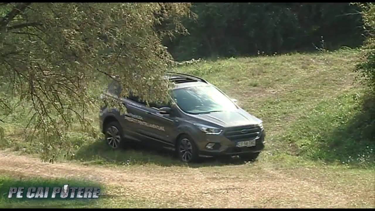 ford kuga 2018 test drive youtube. Black Bedroom Furniture Sets. Home Design Ideas
