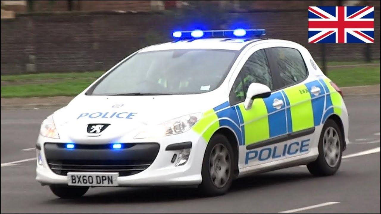 Uk Police Cars Responding