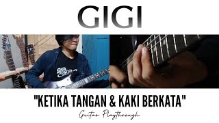 #GuitarCover | Ketika Tangan dan Kaki Berkata (GIGI) | Fajar Lesmana