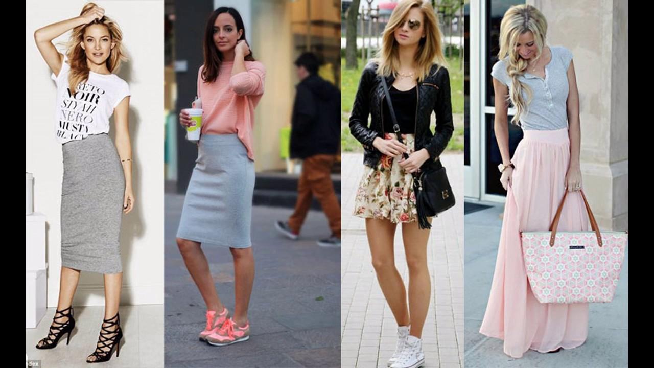 80ea7b716e Outfits de moda casuales y con estilo colección de moda mujer 2018 ...