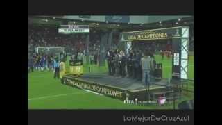 PREMIACION Y FESTEJO COMPLETO DEL CAMPEON CRUZ AZUL - CONCACAF 2014